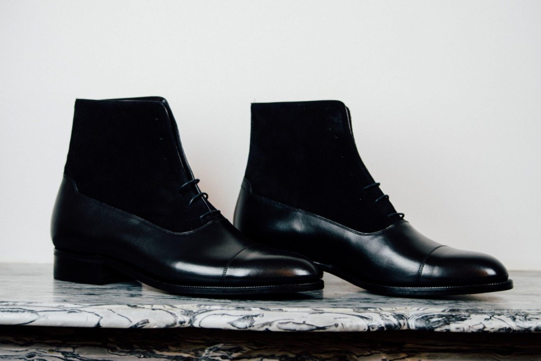 Mauban Balmoral All Black Boots