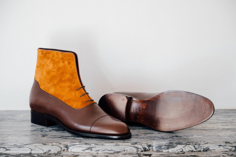 Mauban Balmoral Brown Camel Goodyear Boots