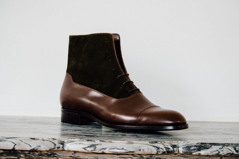 Mauban Balmoral Brown Olive Boot