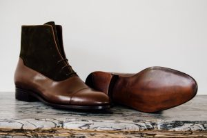 Mauban Handcrafted Brown Camel Balmoral Boots