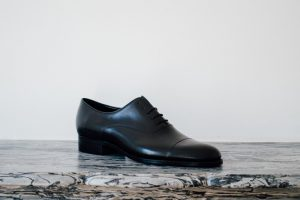 Mauban Handcrafted in France Black Oxford Shoes