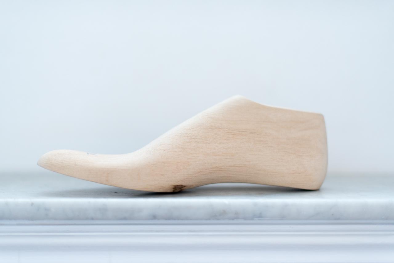 Forme à la main Mauban soulier français Handmade last know how