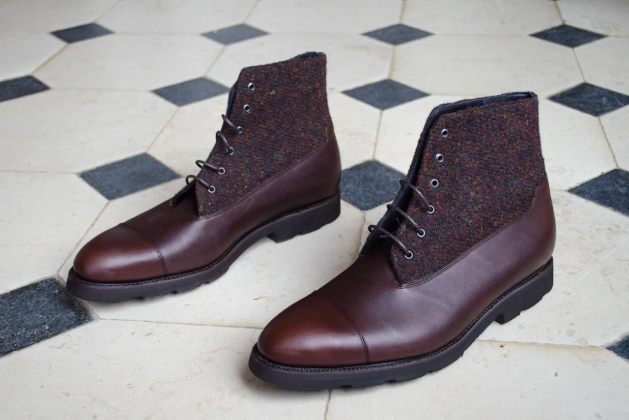Mauban Manufacture France Sur-mesure Savoir-faire derby boots