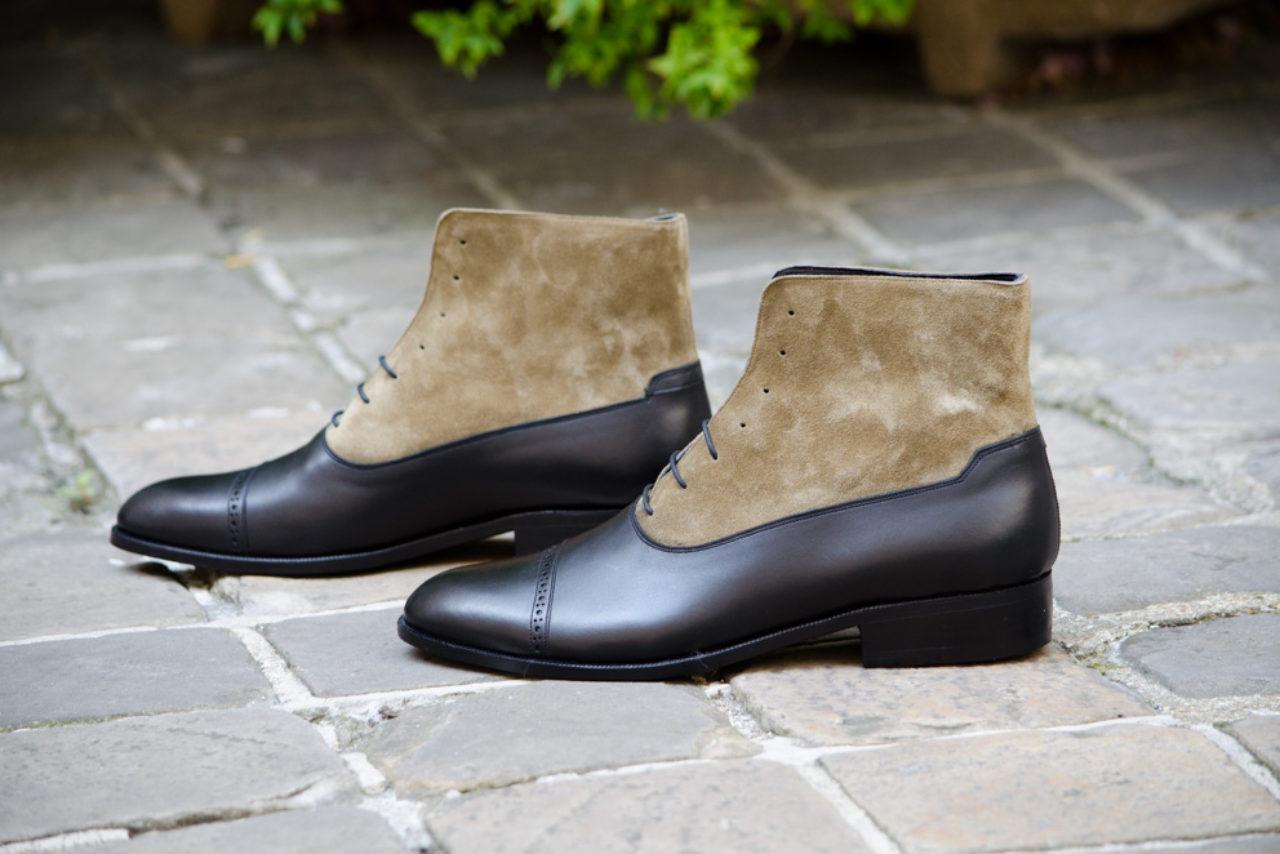 Mauban Manufacture France Sur-mesure Savoir-faire derby boots