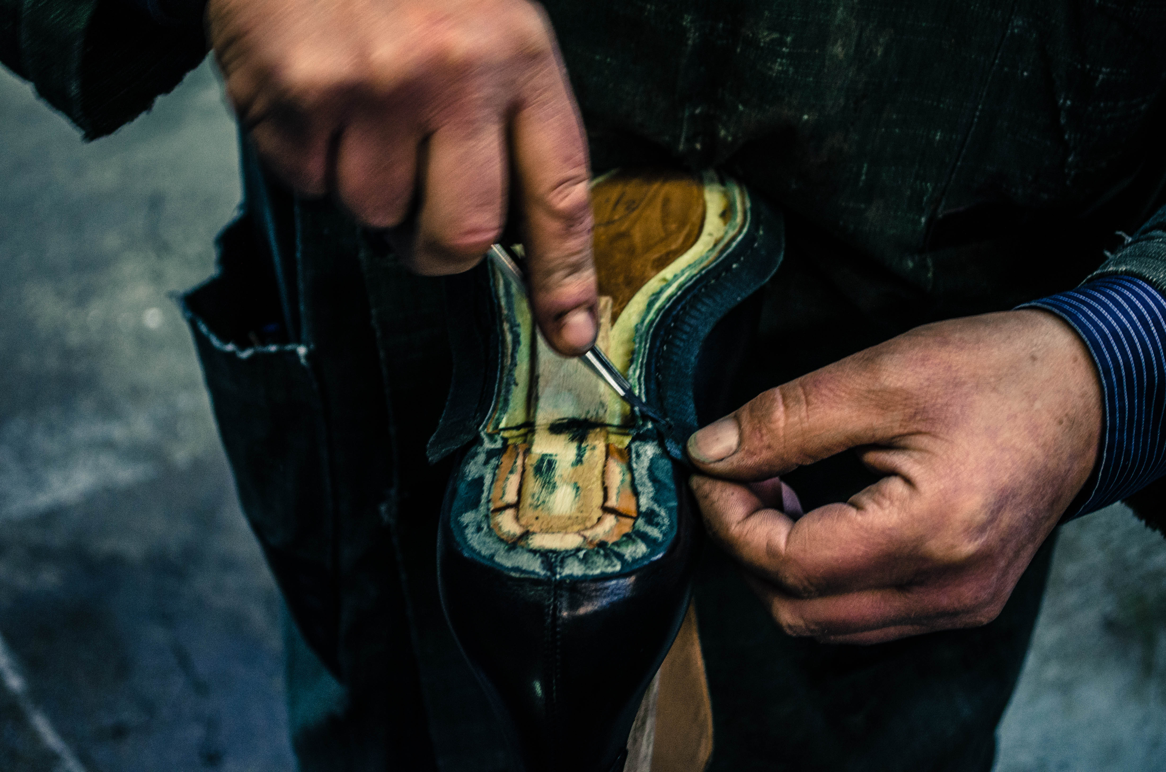 Goodyear fait main Mauban Craftmanship Benchmade atelier artisan