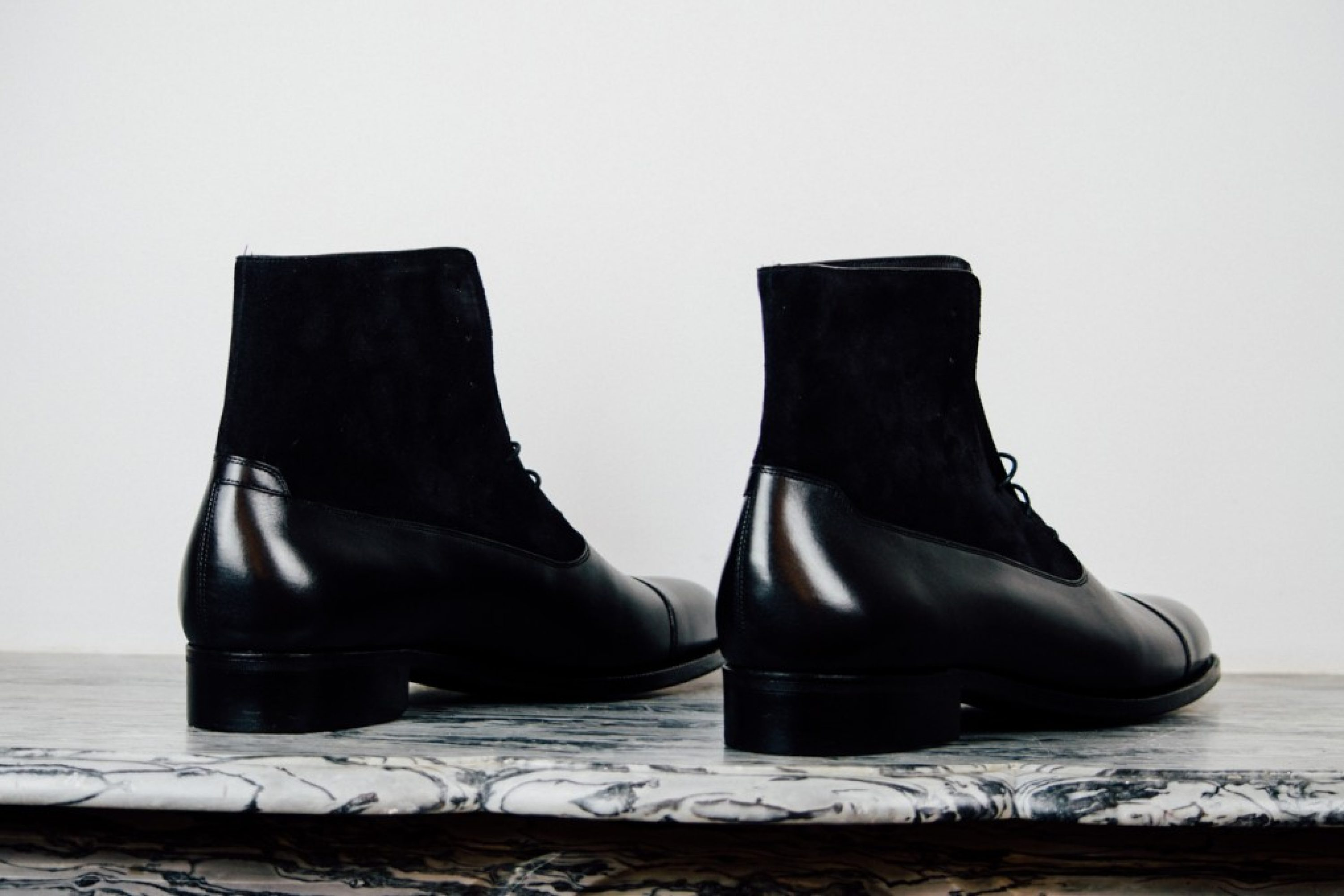 Mauban Balmoral All Black Handcrafted Boots