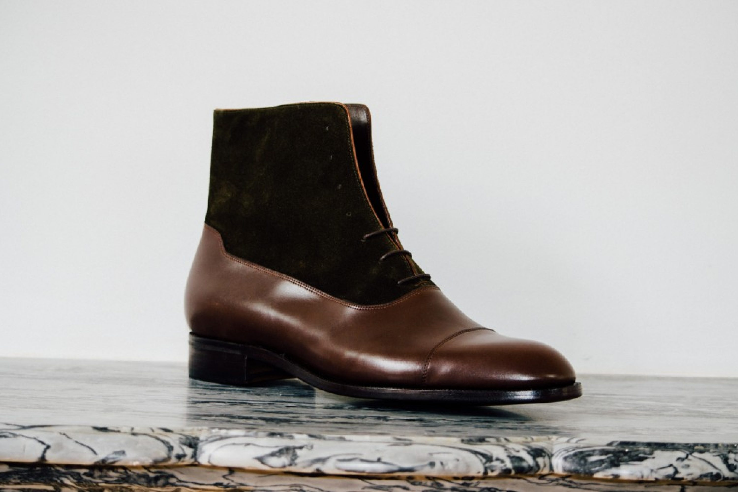 Mauban Balmoral Brown Olive Boot