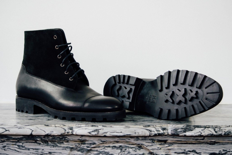 Mauban Black Blitz Derby Commando Goodyear Boots
