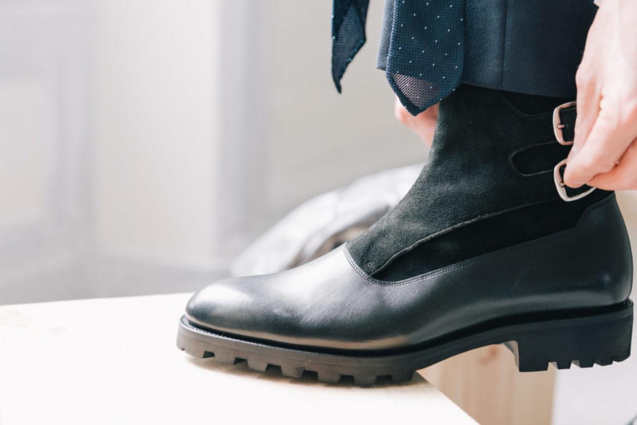 Mauban Manufacture France savoir-faire sur-mesure bottines double boucle rider boots